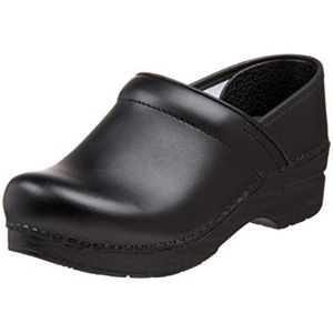 DANSKO Black Professional Clogs size 38